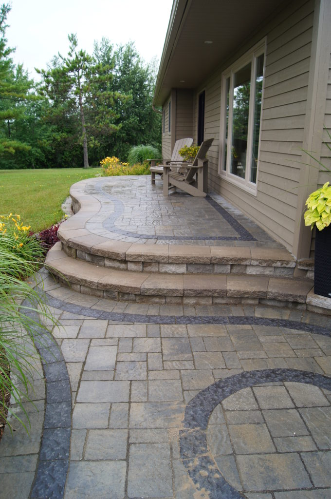 Interlocking Patio