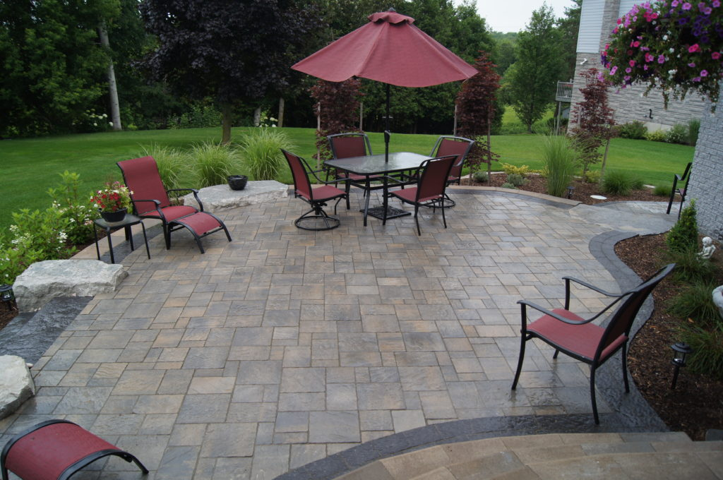 Interlocing Patio